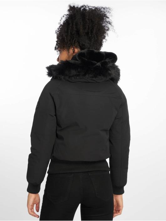 Helvetica Manteau hiver Jura Dark Edition noir