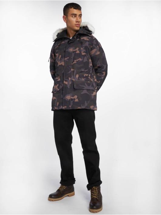 Helvetica Vinterjackor Anchorage Raccoon Edition kamouflage