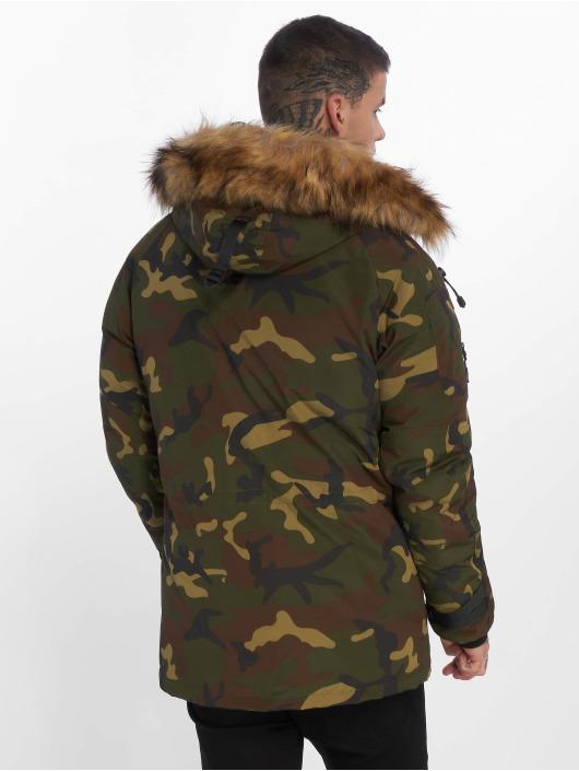 Helvetica Vinterjackor Expedition Raccoon Edition kamouflage