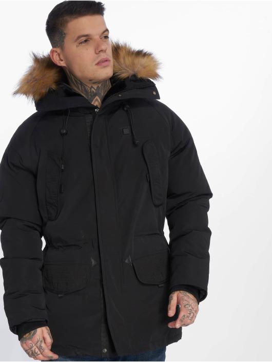 Helvetica Winter Jacket Expedition Ewarm Raccoon black