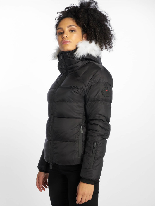 Helvetica Winter Jacket Andes Courte black