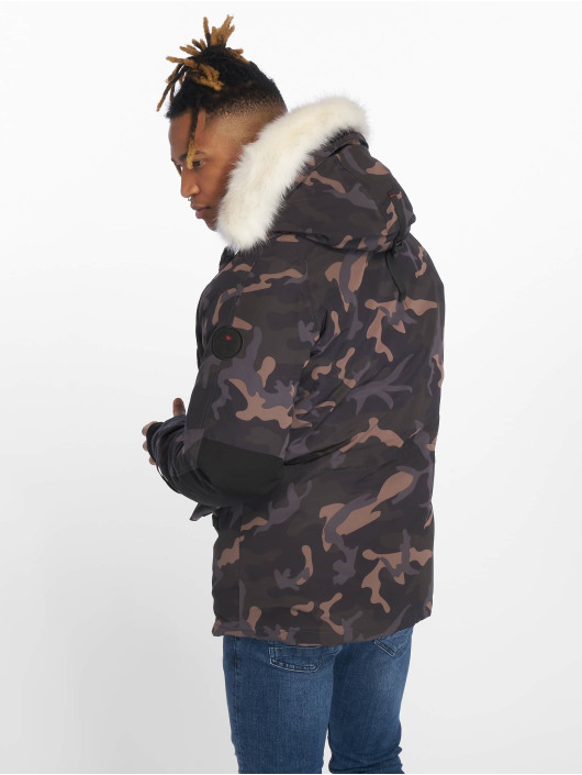 Helvetica Winter Jacket Artic camouflage