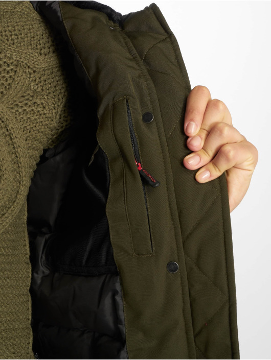 Helvetica Winter Jacket Jura Dark Edition khaki