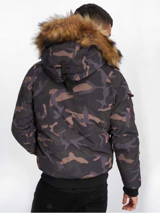Helvetica Winterjacke Anchorage Raccoon Edition camouflage