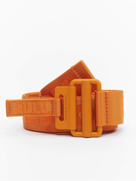 Heron Preston Bälte Tape apelsin