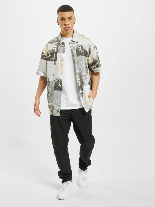 Heron Preston Camisa Bowling negro