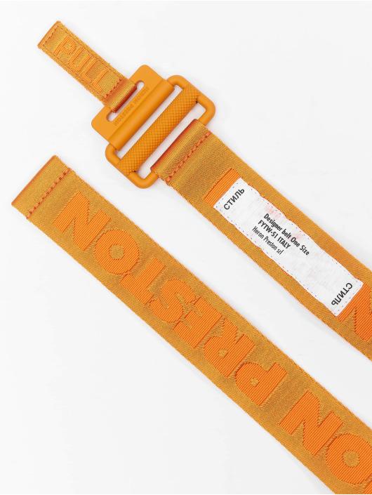Heron Preston Cinturón Tape naranja