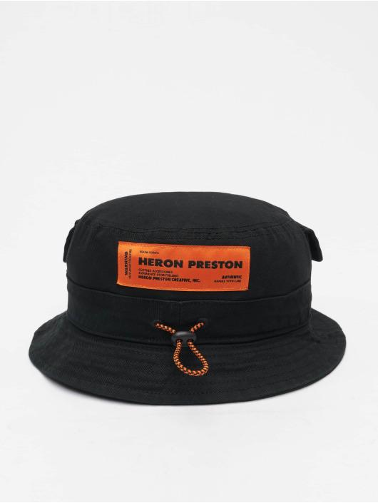 Heron Preston Hatt Logo svart