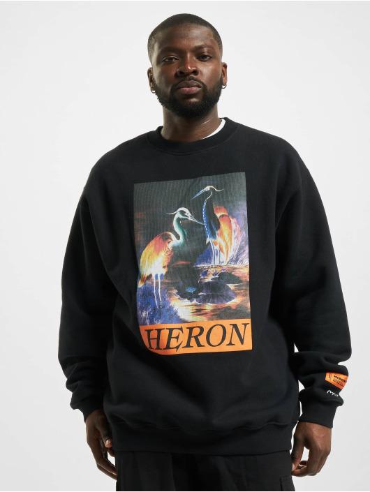 Heron Preston Pullover Times schwarz