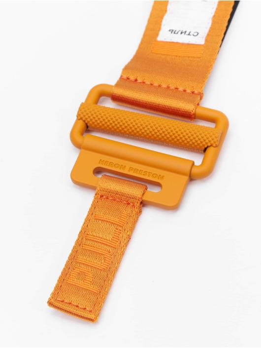Heron Preston riem Tape oranje