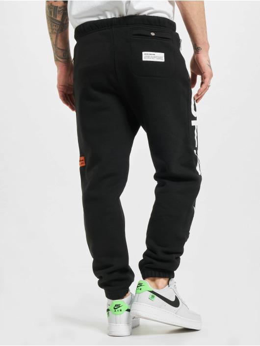 Heron Preston Spodnie do joggingu Short Leg czarny