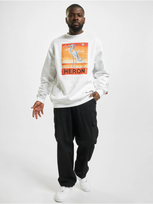 Heron Preston Sweat & Pull Times blanc