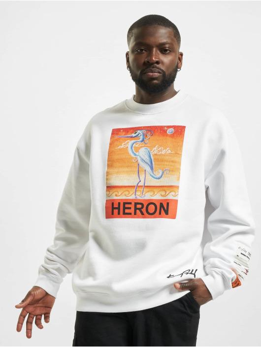 Heron Preston Swetry Times bialy