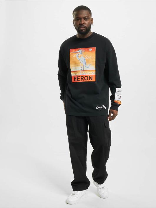 Heron Preston Swetry Heron czarny