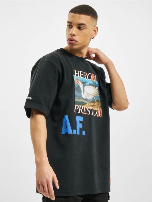 Heron Preston T-paidat Preston musta