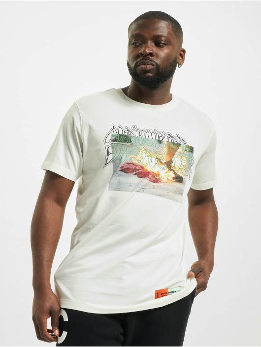 Heron Preston T-Shirt Sami Miro blanc