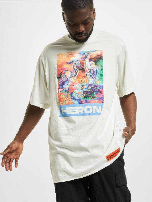 Heron Preston T-Shirt Colours Over weiß