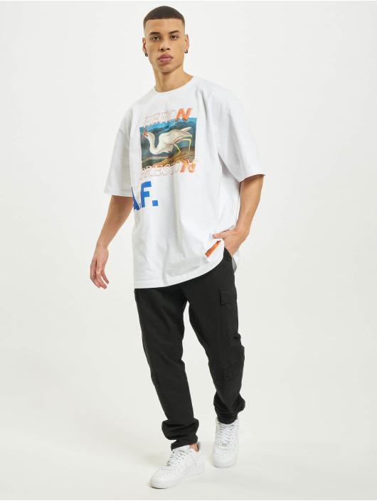 Heron Preston T-Shirt Over Print weiß