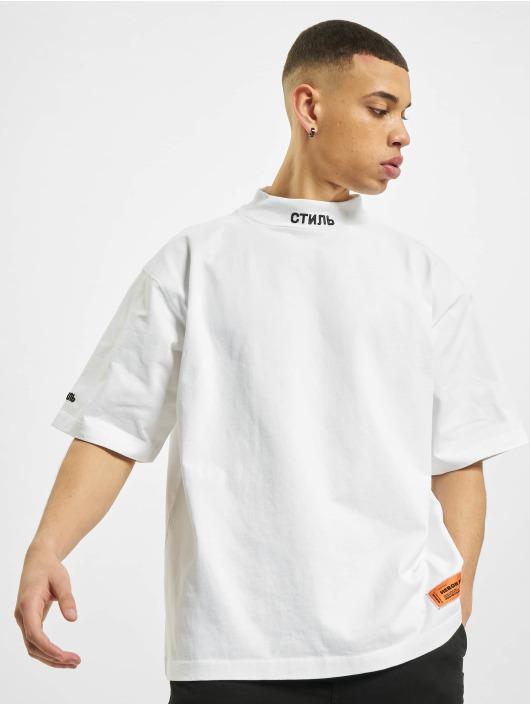 Heron Preston T-shirts Turtleneck hvid