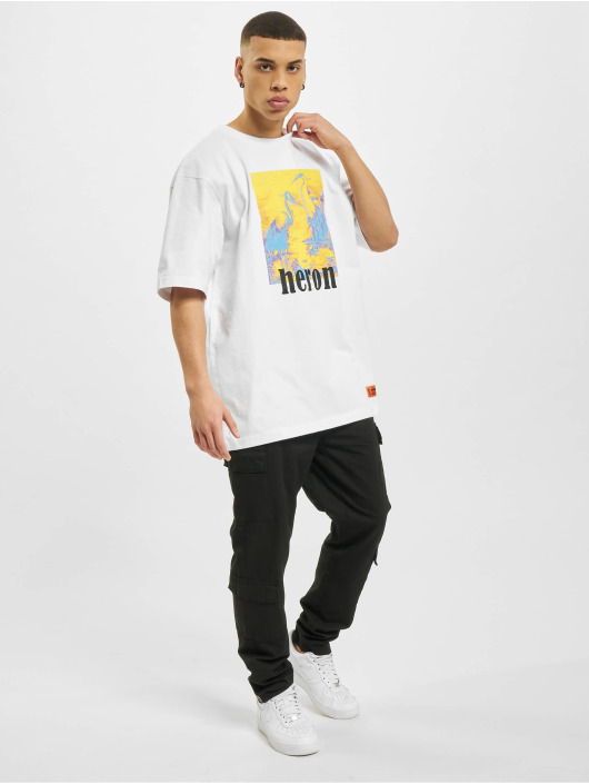 Heron Preston T-Shirty Print bialy