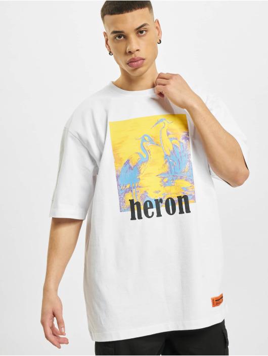 Heron Preston Tričká Print biela