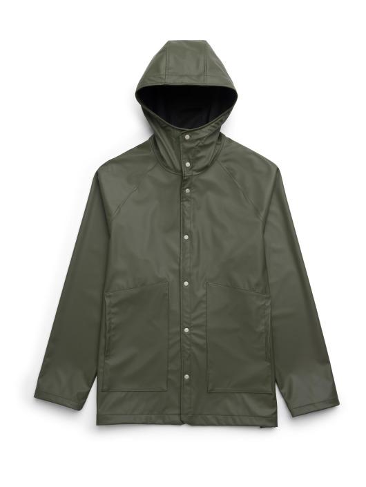 Herschel Kurtki przejściowe Rainwear Classic oliwkowy
