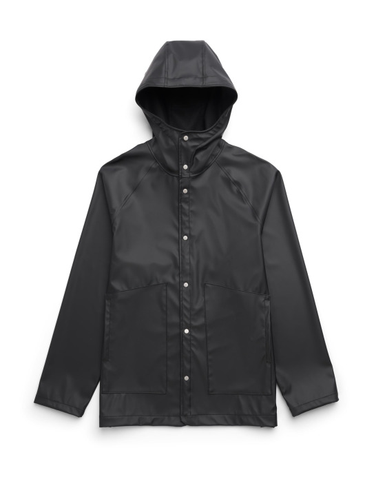 Herschel Lightweight Jacket Rainwear Classic black
