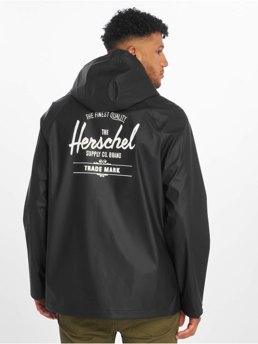 Herschel Prechodné vetrovky Classic Rain èierna