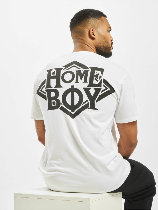Homeboy T-Shirty Homie bialy