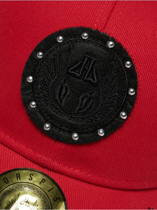 Horspist snapback cap Darnel rood