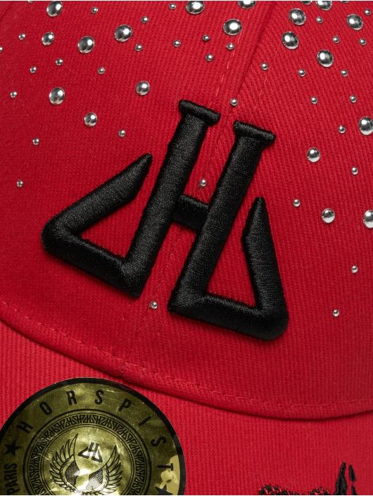 Horspist snapback cap Daryl rood