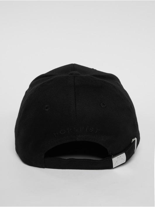 Horspist Snapback Caps Darnel čern