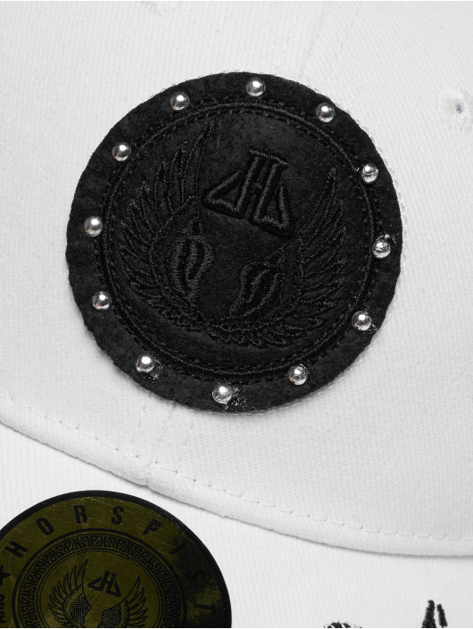 Horspist Snapback Caps Darnel bialy