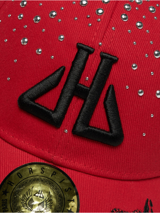 Horspist Snapback Caps Daryl punainen