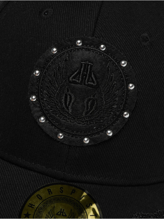 Horspist Snapback Caps Darnel svart