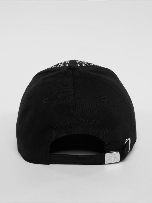 Horspist Snapback Caps Wayne svart