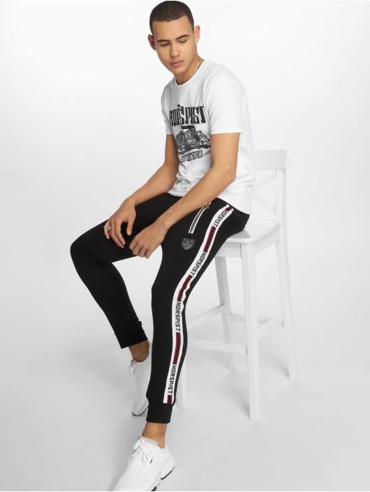 Horspist T-paidat Boston valkoinen
