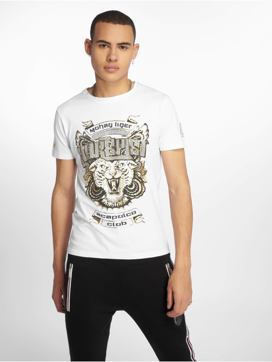 Horspist T-shirt Dallas bianco