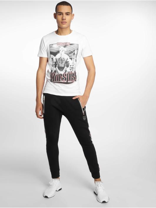 Horspist T-shirt Jordan bianco