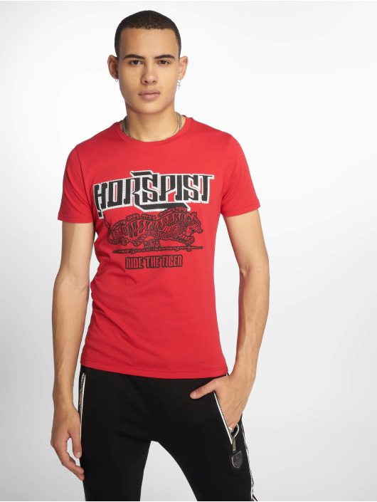 Horspist T-shirt Boston rosso