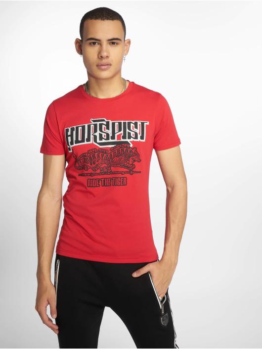 b557d00d3f484e Horspist Herren T-Shirt Boston in rot 616481