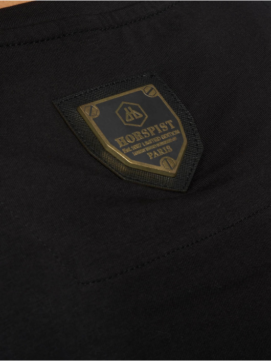 Horspist T-shirt Dallas svart