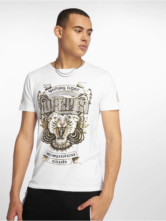 Horspist T-shirt Dallas vit