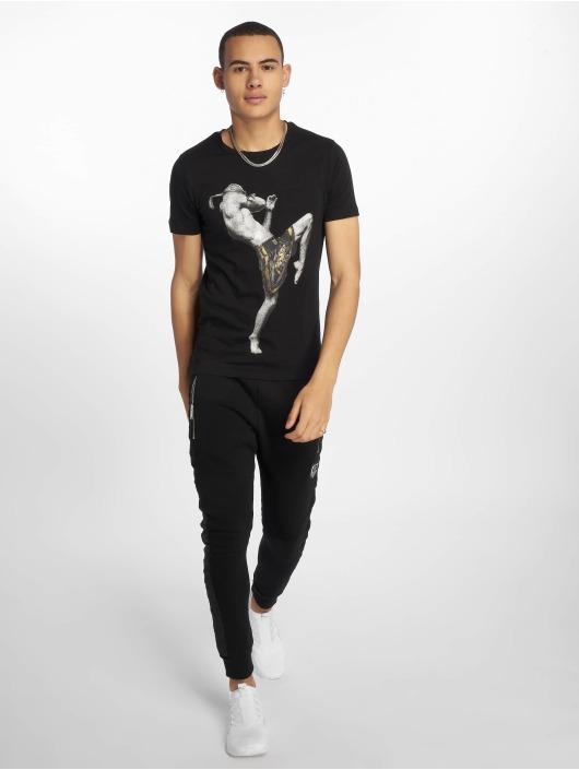 Horspist t-shirt Kick zwart
