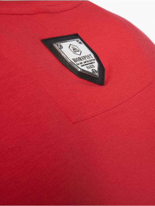 Horspist T-shirts Boston rød