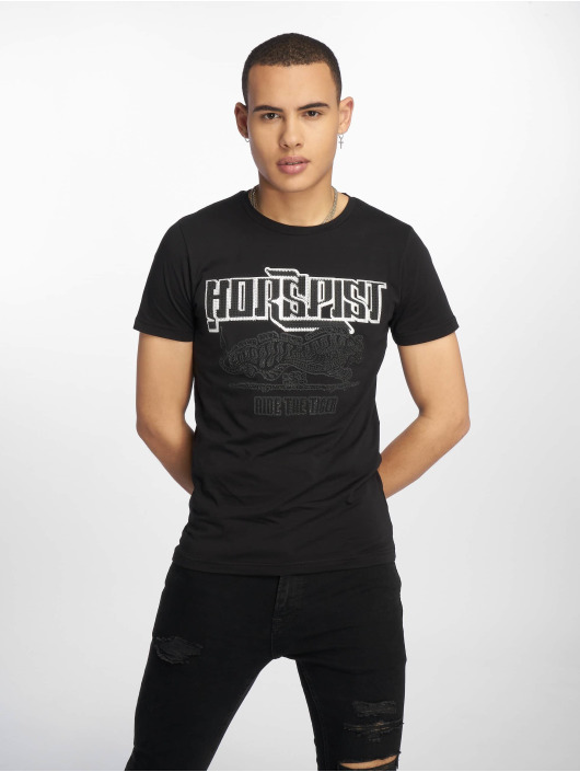 Horspist T-skjorter Boston svart