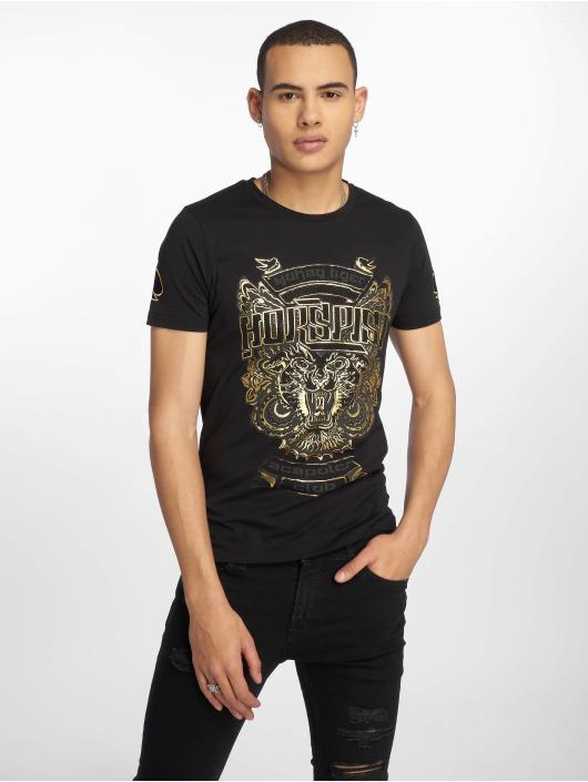 Horspist T-skjorter Dallas svart