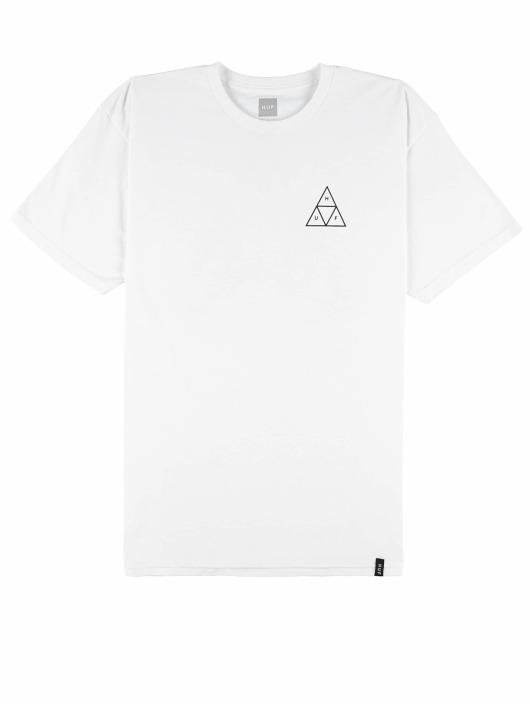 HUF Camiseta City Rose blanco