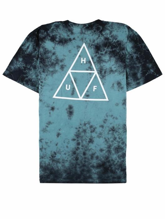 HUF Camiseta Triple Triangle Td S/S verde
