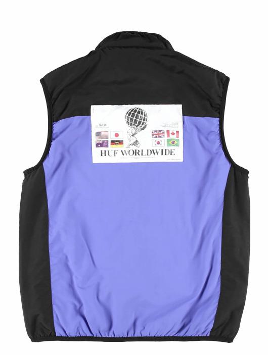 HUF Lightweight Jacket Borough Reversible black